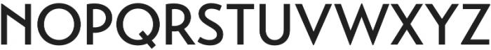 Transat Medium otf (500) Font UPPERCASE
