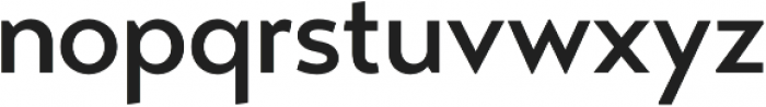 Transat Medium otf (500) Font LOWERCASE