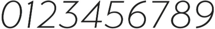 Transat Text Light Oblique otf (300) Font OTHER CHARS