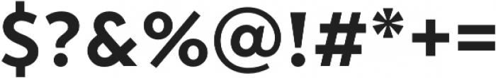 Transat Text otf (700) Font OTHER CHARS