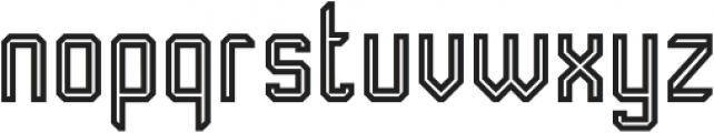 Transmetal otf (400) Font LOWERCASE