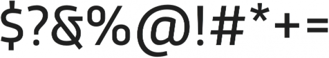 Trasandina  Regular otf (400) Font OTHER CHARS