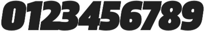 Trasandina  Ultra Italic otf (900) Font OTHER CHARS