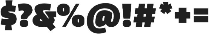 Trasandina  Ultra otf (900) Font OTHER CHARS