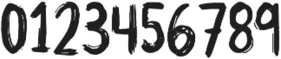Trash Panda otf (400) Font OTHER CHARS