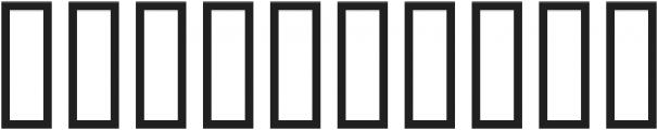 Trashold X ttf (400) Font OTHER CHARS