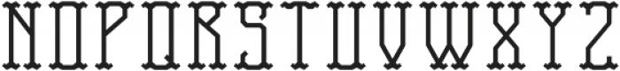 TravelerFont Base otf (400) Font UPPERCASE