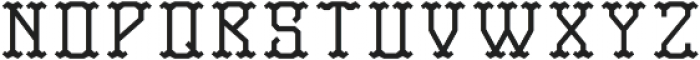 TravelerFont Base otf (400) Font LOWERCASE