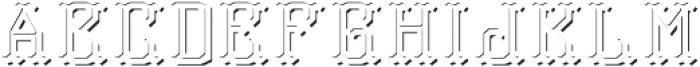 TravelerFont LightShadowFX otf (300) Font LOWERCASE