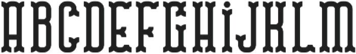 Traveller Two otf (400) Font LOWERCASE