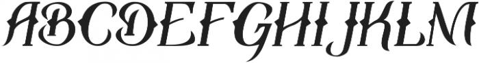 Travelo ttf (400) Font LOWERCASE