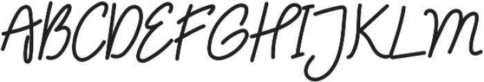 Treasure Script  ttf (400) Font UPPERCASE