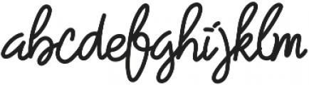 Treasure Script  ttf (400) Font LOWERCASE