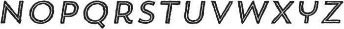 Trend HM Sans Five Italic otf (400) Font LOWERCASE