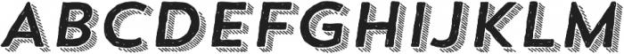 Trend HM Sans Four Italic otf (400) Font UPPERCASE