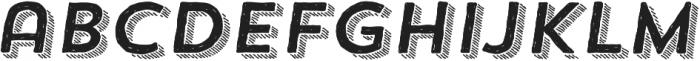 Trend HM Sans Four Italic otf (400) Font LOWERCASE