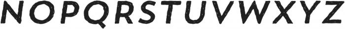 Trend HM Sans One Italic otf (400) Font UPPERCASE