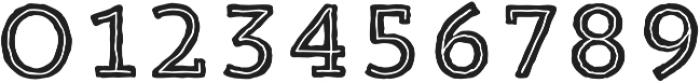 Trend HM Slab Five otf (400) Font OTHER CHARS