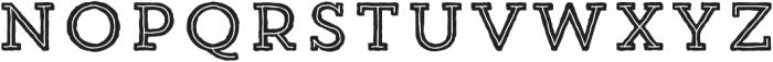 Trend HM Slab Five otf (400) Font UPPERCASE