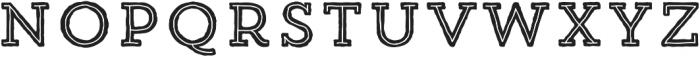 Trend HM Slab Five otf (400) Font LOWERCASE