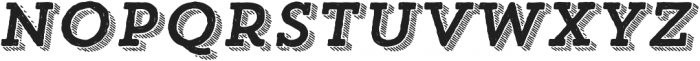 Trend HM Slab Four Italic otf (400) Font LOWERCASE
