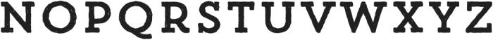 Trend HM Slab One otf (400) Font LOWERCASE