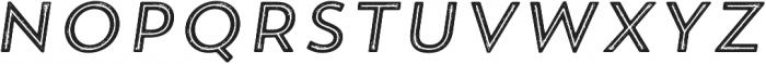 Trend Rh Sans Five Italic otf (400) Font UPPERCASE
