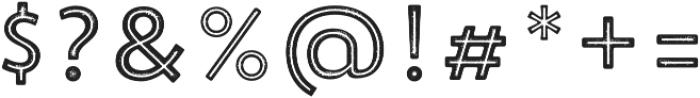 Trend Rh Sans Five otf (400) Font OTHER CHARS