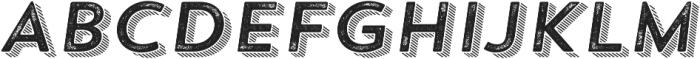 Trend Rh Sans Four Italic otf (400) Font UPPERCASE