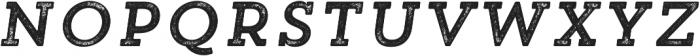 Trend Rh Slab One Italic otf (400) Font UPPERCASE