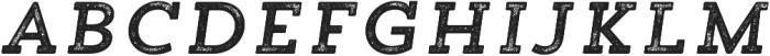 Trend Rh Slab One Italic otf (400) Font LOWERCASE