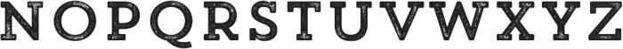 Trend Rh Slab One otf (400) Font UPPERCASE