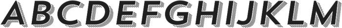 Trend Sans Four Italic otf (400) Font UPPERCASE