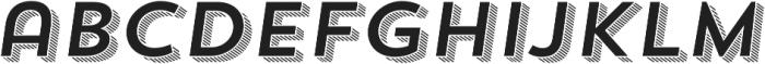 Trend Sans Four Italic otf (400) Font LOWERCASE