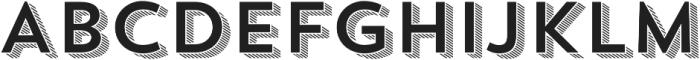 Trend Sans Four otf (400) Font UPPERCASE