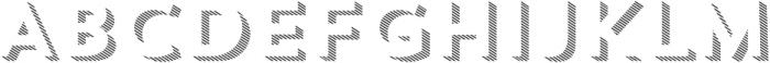 Trend Sans Three otf (400) Font UPPERCASE