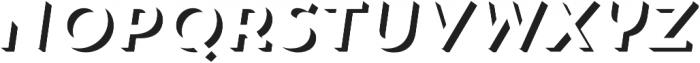 Trend Sans Two Italic otf (400) Font LOWERCASE