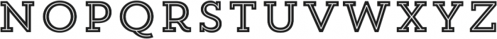 Trend Slab Five otf (400) Font LOWERCASE