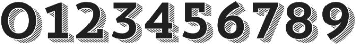 Trend Slab Four otf (400) Font OTHER CHARS
