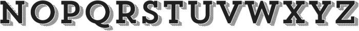 Trend Slab Four otf (400) Font UPPERCASE