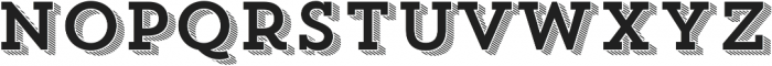 Trend Slab Four otf (400) Font LOWERCASE