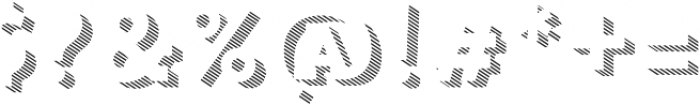 Trend Slab Three otf (400) Font OTHER CHARS