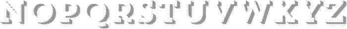 Trend Slab Three otf (400) Font UPPERCASE