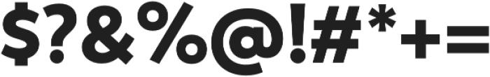 Trenda Black otf (900) Font OTHER CHARS