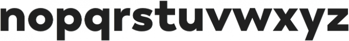 Trenda Black otf (900) Font LOWERCASE