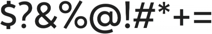 Trenda Semibold otf (600) Font OTHER CHARS