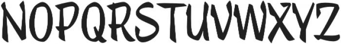 Trendy Text Black otf (900) Font UPPERCASE