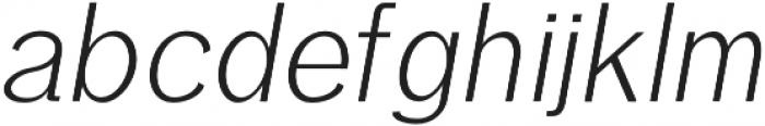 Treyton Light Italic otf (300) Font LOWERCASE
