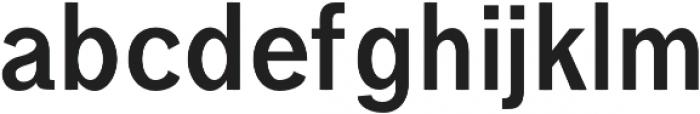 Treyton otf (700) Font LOWERCASE