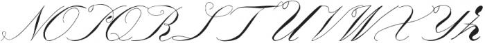 Triana otf (400) Font UPPERCASE